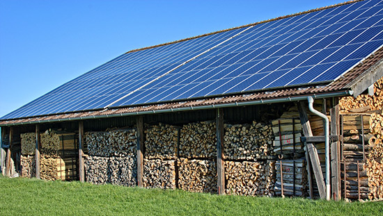 Branschnyheter. Bättre villkor för solceller på jordbruksfastighet